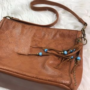 The Sak Floral Embossed Leather Purse